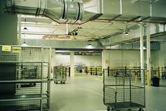 Warehouse (homesickATLien) Tags: 35mm film art kodak analog expired mjuiii olympus melbourne victoria australia abbotsford warehouse indoor factory solitude