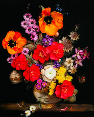 Reworked Old Master (photoart33) Tags: flowers stilllife oilpainting botanical fresh vibrant oldmaster