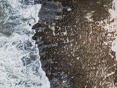 Texturas de la costa (Victor Silva (www.victorsilva.cl)) Tags: drone dji djimavic djimavicpro aerealphoto fotoaerea