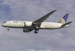 United Airlines 787-8 N45905 at London Heathrow LHR/EGLL (dan89876) Tags: united airlines boeing 787 7878 b788 n45905 london heathrow international airport 27r lhr egll
