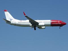 "LN-DYW, Boeing 737-8JP(WL), 39010 / 3871, Norwegian Air Shuttle, ""Thorbjørn Egner"", ORY/LFPO 2018-05-07, short finals to runway 06/24 (alaindurandpatrick) Tags: dy nax norshuttle norwegian norwegianairshuttle airlines lndyw 390103871 737 738 737800 737nextgen boeing boeing737 boeing737800 boeing737nextgen jetliners airliners ory lfpo airports aviationphotography"