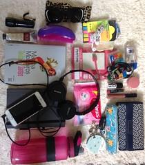 What's in my bag today (deboreca) Tags: necessaire bolsa sacola purse bag bagpursesacolabolsa