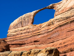Castle Arch Landscape (xjblue) Tags: needlesweekend 2018 canyonlandsnationalpark camping canyon canyonlands desert exploring hiking rockart ruins natural arch naturalarch span