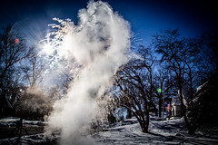 Wind Chill Day (Phil Roeder) Tags: desmoines iowa frozen water windchill winter cold steam mist canon6d canonef24105mmf4lisusm