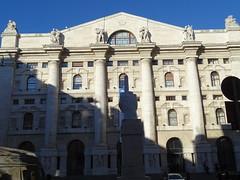Milano (57) (pensivelaw1) Tags: italy milan statues trump starbucks romanruins thefinger trams cakes architecture