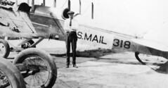 air mail collection image (San Diego Air & Space Museum Archives) Tags: usmail318 usairmail airmail aviation aircraft airplane biplane dehavilland dehavillanddh4 dh4 libertyengine libertyl12 liberty12