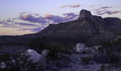 (maknsandwiches) Tags: guadalupe national park texas rocks sunset clouds yucca rock pink glow hills landscape canon 6d sky photography tamron el capitan desert