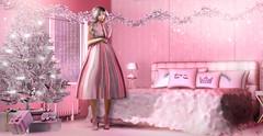 Not enough pink (meriluu17) Tags: foxcity belleepoque astralia le poppycock sintiklia pink pinky pastel people portrait blush cozy doll barbie room bedroom christmas tree candy crush