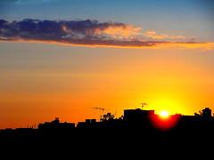 New York Sunset (dimaruss34) Tags: newyork brooklyn dmitriyfomenko image sky clouds sunset skyline greece athens