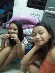 Ashley and I (ghostgirl_Annver) Tags: asia asian girls annver ashley teens sisters daughters siblings family selfie portrit