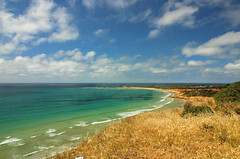 Spectacular landscape at the Great Ocean Road, Australia (Julia_Kul) Tags: road ocean great australia melbourne victoria beautiful view blue scenic landscape nature green summer background white travel sea tourism freeway scenery destination coastline seascape amazing spectacular beauty lorne australian pretty natural lookout day bright grass sky water beach coast island vacation sand paradise sunny sun shore greatoceanroad