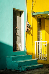 colorful homes (Sam Scholes) Tags: color puertorico architecture colorful sanjuan building travel vacation