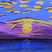 """""""Reflections"""" by Lynette A, acrylic, $25.00"""