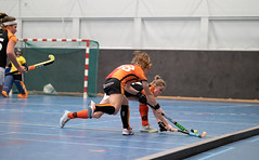 4C161995 (roel.ubels) Tags: hockey indoor zaalhockey sport topsport sporthallen zuid amsterdam hoofdklasse 2018