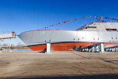 20181215_Y5A8620_m (LCS Team Freedom) Tags: 2018 christening lcs lcs19 launch littoralcombatship marinette shipyard stlouis usnavy usn wi wisconsin