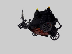 Fantastic Beasts Carriage (Ty Stephany) Tags: fantasticbeasts grindelwald thestral carriage chair seat door wheel wagon lego moc creation