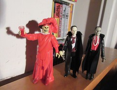 Mask of the Red Death Phantom Toasting 8198 (Brechtbug) Tags: mask red death phantom opera masque funko super7 reaction remco minimonsters figure from 1980 lon chaney sr eric paris monster dusty action universal monsters new york city 2018 france convict devil s island scary horror terror halloween fright toy toys creatures shadow ghoul teacher mentor victor hugo skull like shadows creepy sideshow 1980s nyc creature super 7 seven