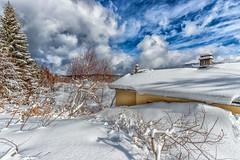 Nostalgie. (Savoie 02/2018) (gerardcarron) Tags: canon80d ciel cloud lacféclaz hiver landscape paysage savoie snow winter