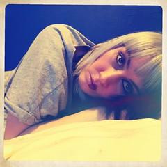 (colletteward1) Tags: selfportrait selfie lightanddark split makeup