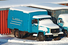GAZ-3307  К 570 ВР 45 (RUS) (zauralec) Tags: курган улица автомобиль грузовик город маш kurgancity streetkurtamyshskaya gaz3307 к 570 вр 45 rus