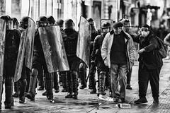 Who's bad ? (JM@MC) Tags: marseille france streetphotography protest manifestation blackandwhite noiretblanc