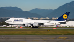 D-ABVT - Lufthansa - Boeing 747-430 (bcavpics) Tags: dabvt lufthansa boeing 747 744 jumbo jet aviation aircraft airliner airplane plane cyvr yvr vancouver britishcolumbia canada bcpics