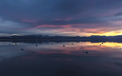 Lake Tahoe Dawn (CraDorPhoto) Tags: canon5dsr landscape waterscape lake water reflection sky clouds colour dawn morning sunrise mountains laketahoe california usa outdoors nature