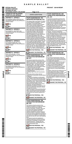 Wes' Ballot Part 2 (Nov 2018) by Wesley Fryer, on Flickr