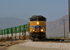 Eastbound near Niland (Rail explorer) Tags: unionpacific up2694 yumasub sunsetroute nilandca shoofly imperialvalley