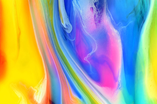 Flowing Fluid Colours