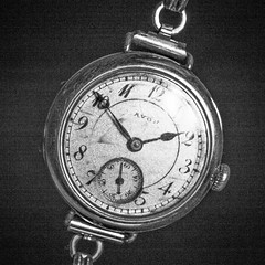 HMM (Robin Penrose) Tags: 201811 antique time watch macromondays mm square black white gritty project365 365the2018edition
