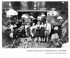 Thacher's Restaurant  272  Delaware ave.  late 1980s (albany group archive) Tags: old albany ny vintage photos picture photo photograph history historic historical
