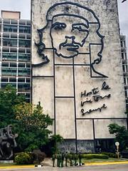 "Ministry of Interior ""Towards Victory Always"" Havana, Cuba (Nancy D. Brown) Tags: ministryoftheinterior plazadelarevolution revolutionsquare towardsvictoryalways havana cuba soldiers hastalavictoriasiempre cheguevara cuban building architecture"