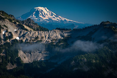 Mt. Adams Detail (kephart_kyle) Tags: adventure beautiful hood landscape national oregon park rainier sunset travel trip washington