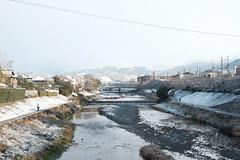 清晨的鴨川 (Chuan-Tai) Tags: 鴨川 日本 京都 雪 清晨 fujifilm xt20 xf35mmf14r