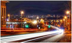Aberdeen night scape #GTA#lighttrail#sonya6000#nothernlights (daveesson2311) Tags: nothernlights sonya6000 lighttrail gta