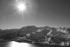 Lanslebourg-Mont-Cenis (damzed) Tags: pentaxk5 pentaxda18135 auvergnerhonealpes savoie valcenis lanslebourgmontcenis noiretblanc monochrome montagne