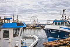 La grande roue de Honfleur HDR+DxOFP LM+35 1007103 (mich53 - thank you for your comments and 6M view) Tags: honfleur normandie normandy télémètre summiluxm35mmf14asph leicamtype240 boat bateaux manège ciel nuages france paysage landscape harbor port