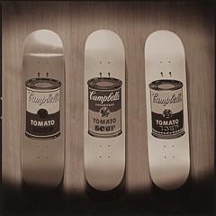 Skateboard decks (Antonio's darkroom) Tags: skateboard warhol hasselblad trix pyrocathd ilford art300 catechol fb se1 sepia toned siena thiourea mt3 carbon mt2 moersch
