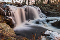 Chillin' at Chapman Falls (tquist24) Tags: chapmanfalls connecticut devilshopyardstatepark eightmileriver nikon nikond5300 outdoor cold geotagged ice longexposure nature outside river water waterfall winter easthaddam unitedstates morning goldenhour