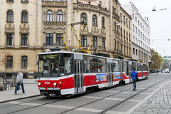 BRN_1724_201811 (Tram Photos) Tags: ckd tatra kt8d5rn2 brno brünn strasenbahn tram tramway tramvaj tramwaj mhd šalina dopravnípodnikměstabrna dpmb