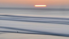 First attempt at abstract seascape. Learned a lot 🤔 (Tucksy81) Tags: lecia sunset northcoast bude lx100 lumix handheld panasonic blurred seascape sea abstract