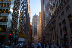 Chicago board of trade building-1929 (George Baritakis) Tags: city cityscape chicago illinois ceres statue people urban artdeco art deco arch