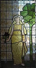 [69056] Birmingham : BM&AG - Four Seasons (Budby) Tags: birmingham westmidlands artgallery museum stainedglass window preraphaelite