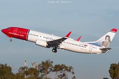 Norwegian B737-8JP EI-FJZ (José M. Deza) Tags: 20181201 b7378jp bcn boeing eifjz elprat lebl norwegain planespotting spotter aircraft