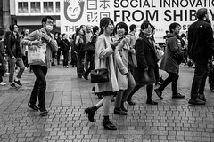 Has One, Looking For One (burnt dirt) Tags: asian japan tokyo shibuya station streetphotography documentary candid portrait fujifilm xt1 bw blackandwhite laugh smile cute sexy latina young girl woman japanese korean thai dress skirt shorts jeans jacket leather pants boots heels stilettos bra stockings tights yogapants leggings couple lovers friends longhair shorthair ponytail cellphone glasses sunglasses blonde brunette redhead tattoo model train bus busstation metro city town downtown sidewalk pretty beautiful selfie fashion pregnant sweater people person costume cosplay boobs