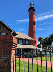 Ponce Inlet Lighthouse (RansomedNBlood) Tags: ponceinlet lighthouse fl florida daytona beach ocean clouds