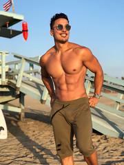 Kenta (kenta.seki) Tags: kenta kentaseki fitness muscle beach body asian men california abs