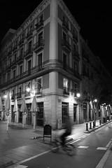 life (Olli.Dr) Tags: travel canon bw move nightlife nightlight street night spain barcelona life