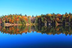 Canada mirror (cyril2cab) Tags: nature automne paysage couleur miroir usa america